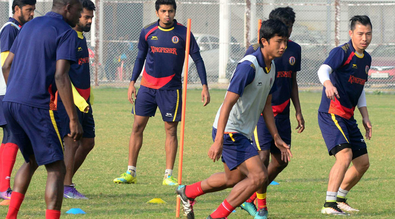 East Bengal beats Churchil Brothers in Away match