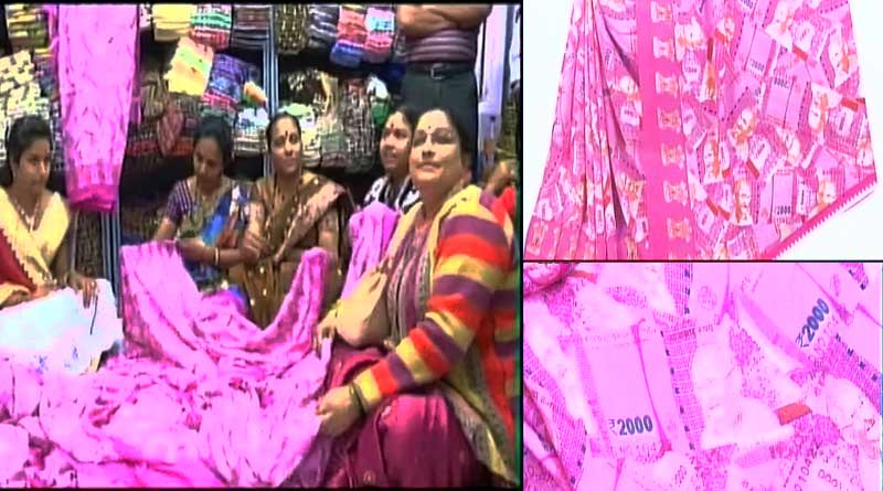 Rs. 2000 printed Saree a huge hit in Surat Market