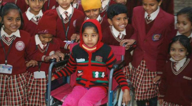 Class II Students Contribute Money To Gift A Wheelchair To Differently Abled Friend