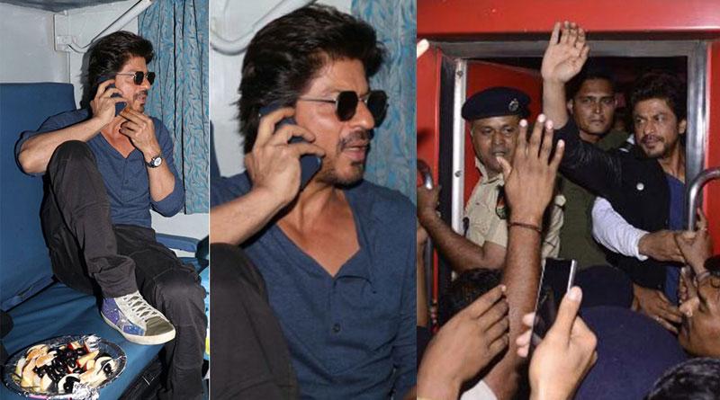 Shah Rukh Khan's train journey for Raees