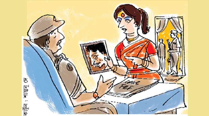 Husband not smart enough, wife seeks police intervention