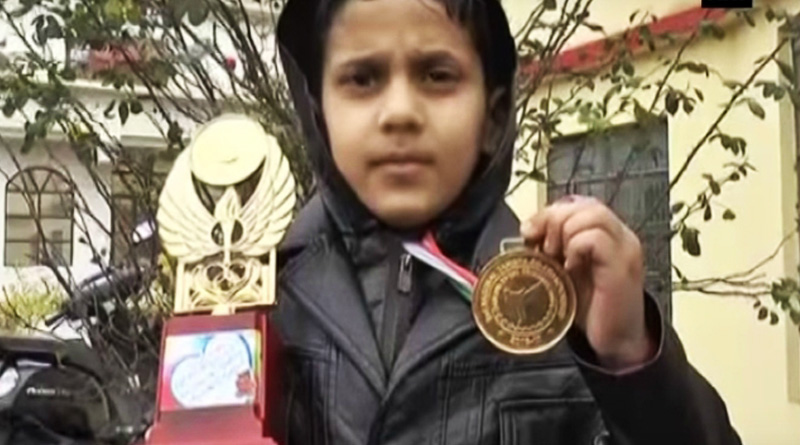 8-year old Kashmiri boy bags gold in national boxing champion