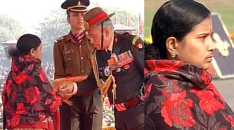 Army Chief Gen Bipin Rawat, Air Force Chief BS Dhanoa and Chief of Indian Navy Sunil Lanba pay homage at Amar Jawan Jyoti