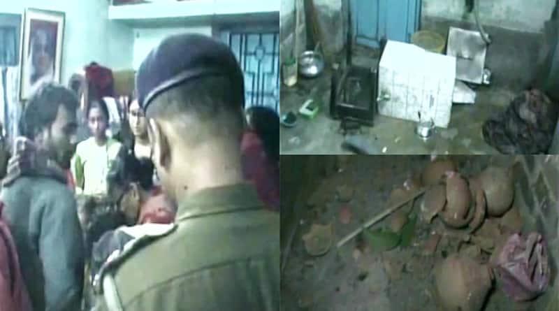 Bombs hurled at BJP leader Krishna Bhattacharya's house