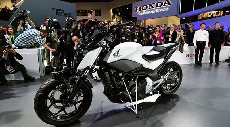 Honda introduces self balancing motorbikes