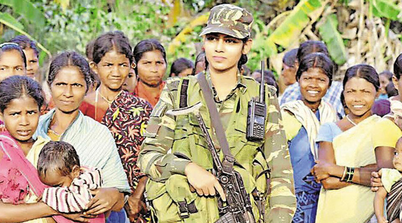 CRPF's First Woman Officer Posted In Bastar