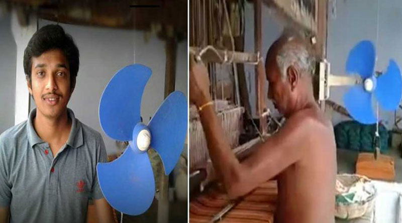 A Young Engineer Made a Fan That Runs Without Electricity For His Grandfather