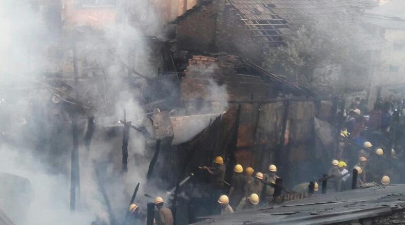 Fire breaks out in Sealdah