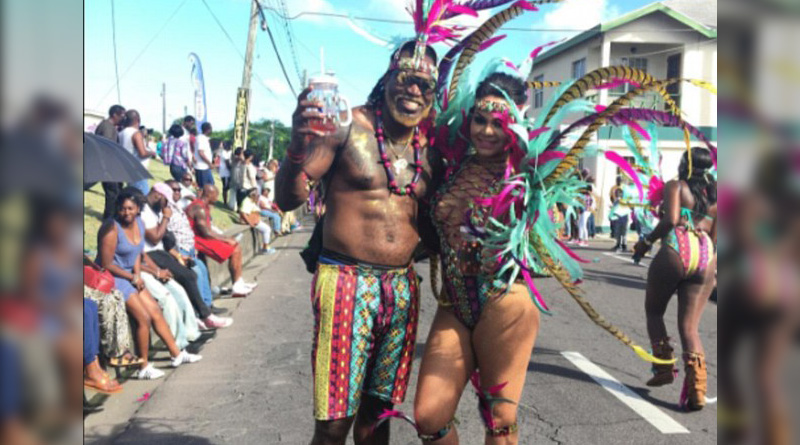 Colourful Chris Gayle rocks New Year carnival in typical style