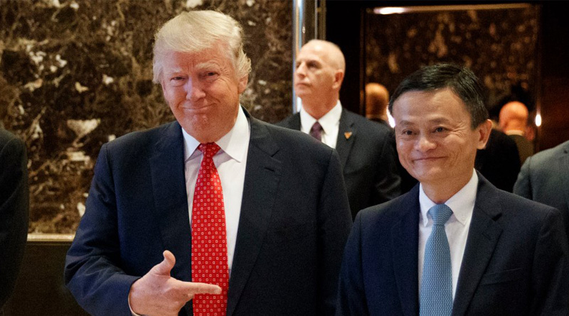 Alibaba's Jack Ma said the poor plight of American economy was due to the costly wars waged by Washington