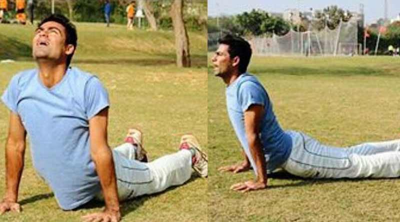 Fundamentalists attack Mohammad Kaif for posting Pictures of Surya Namaskar