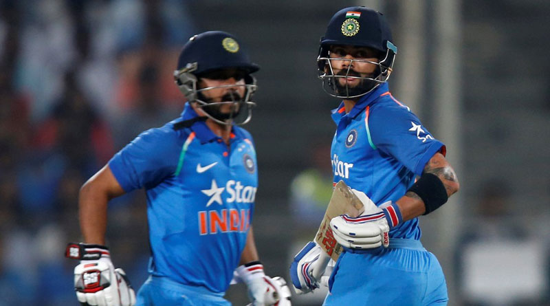 Kohli proves his captaincy on the very first match, India wins over England