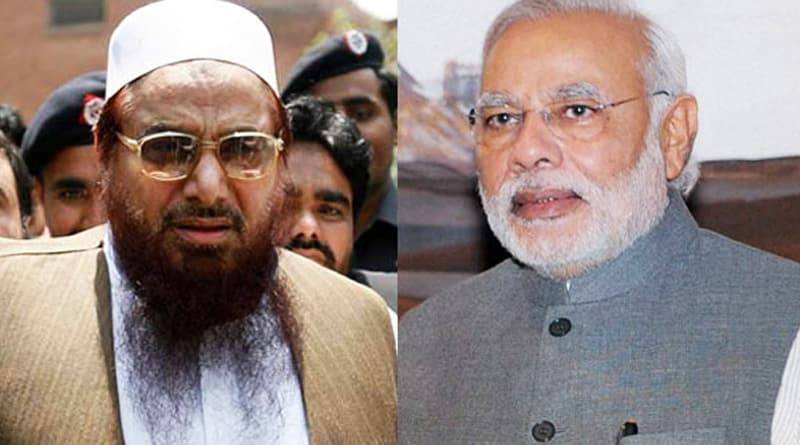 If India stops river waters of Pak, there would be blood in rivers, Hafiz Saeed threats Modi