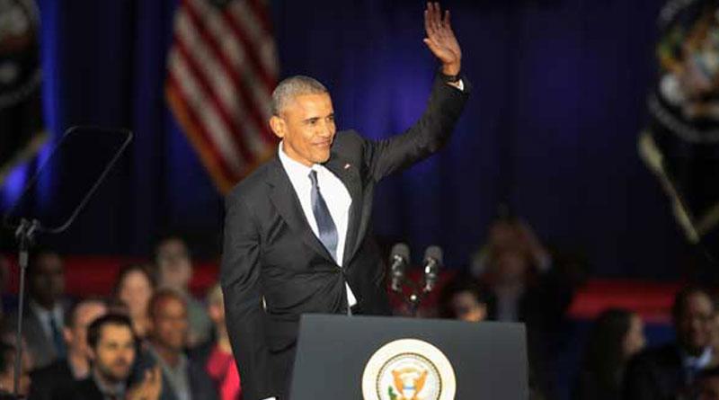 Tearful Obama says goodbye in emotional Speech