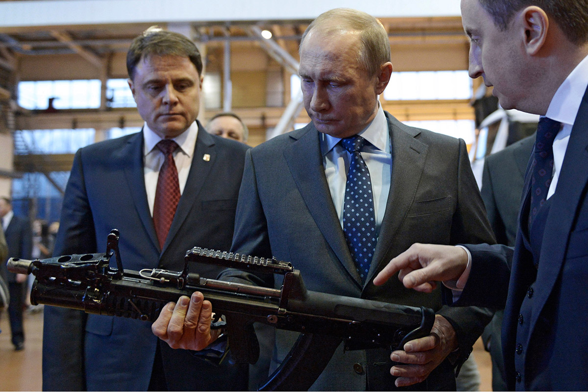 Putin warns of 'chaos' in international order if Syria gets attacked again