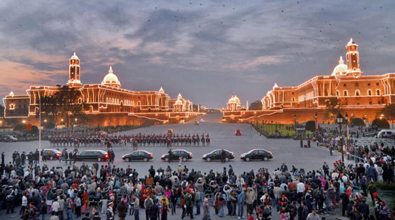 Beating the Retreat ceremony, which marks the culmination of the four-day-long Republic Day celebrations