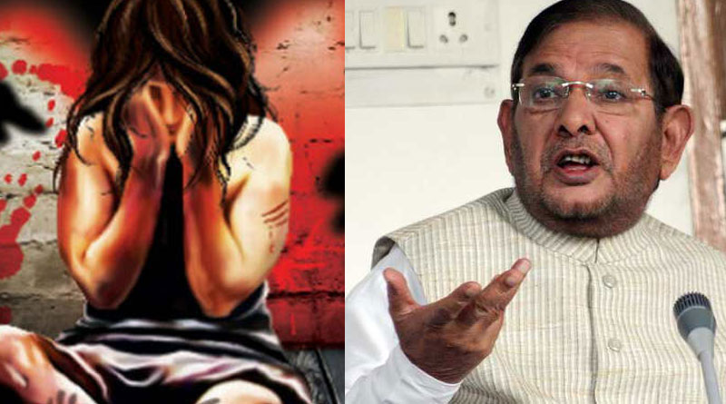 Keeping the respect of ballot is far more important than keeping the respect of woman: Sharad Yadav