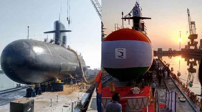 Scorpene class submarine INS Khanderi launched in Mumbai