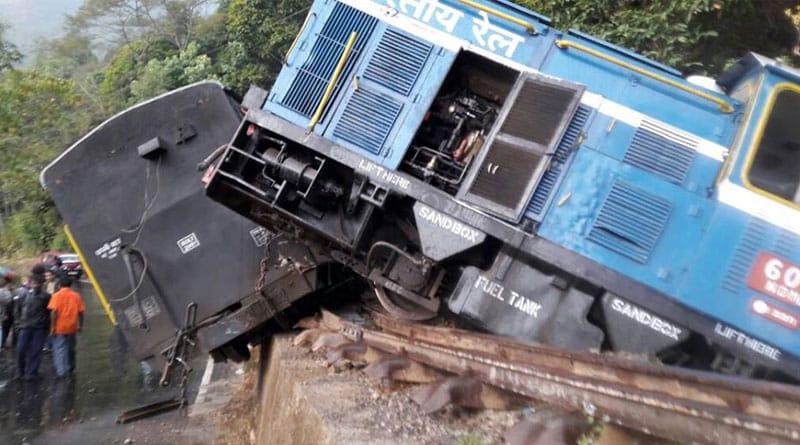 Toy train of Darjeeling Himalayan railways derailed at Kurseong, several inured