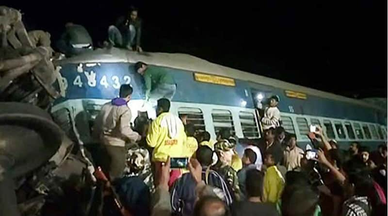Again train derailed, this time in Andhra Pradesh, 36 people killed