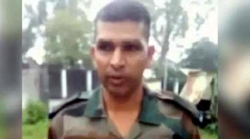 Seeking justice army jawan Yagya Pratap Singh stages hunger strike