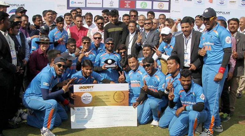 India beats Pakistan in T20 Blind World Cup Final by nine wickets