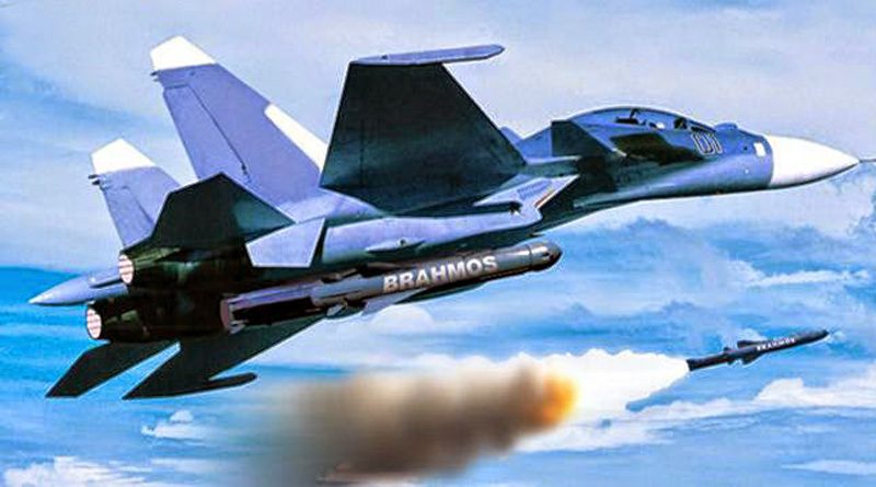 With Su-30 firing Brahmos, India will be able to conduct surgical strike 300 nkm away