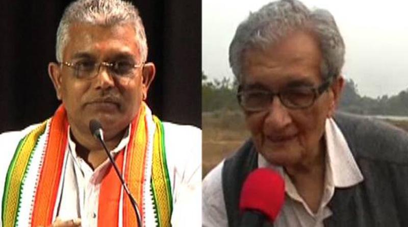 Dilip Ghosh slams Amartya Sen over 'Jai Shri Ram' Comment