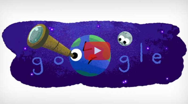 Google celebrates NASA's Exoplanets Discovery by Doodle