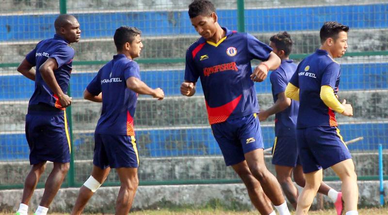 Eastbengal draw against Shillong Lajong in Siliguri