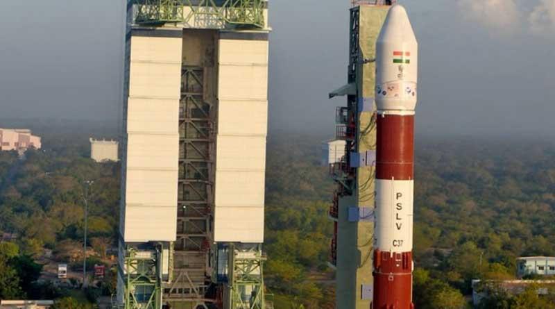 ISRO Launches 104 Satellites PSLV-C37