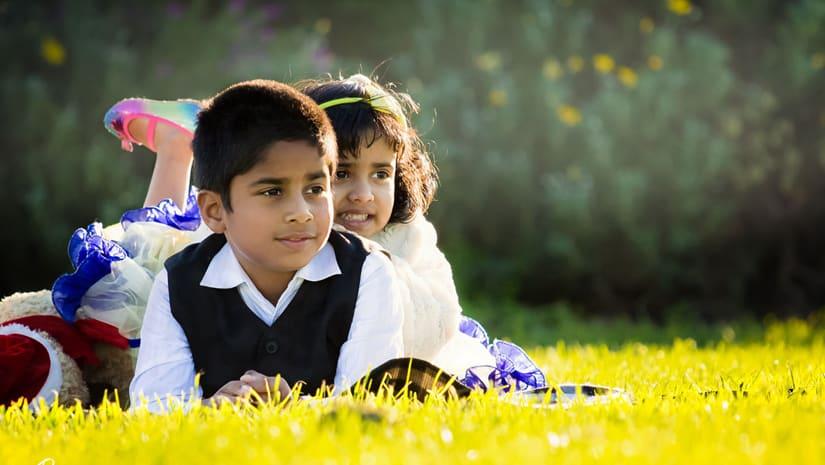 Indian-Siblings