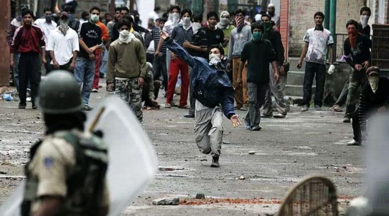 Kashmir-Protestors