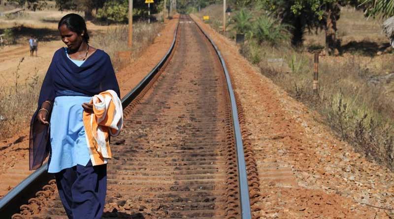 Brave heart Bastar woman guards railway tracks in Mao zone