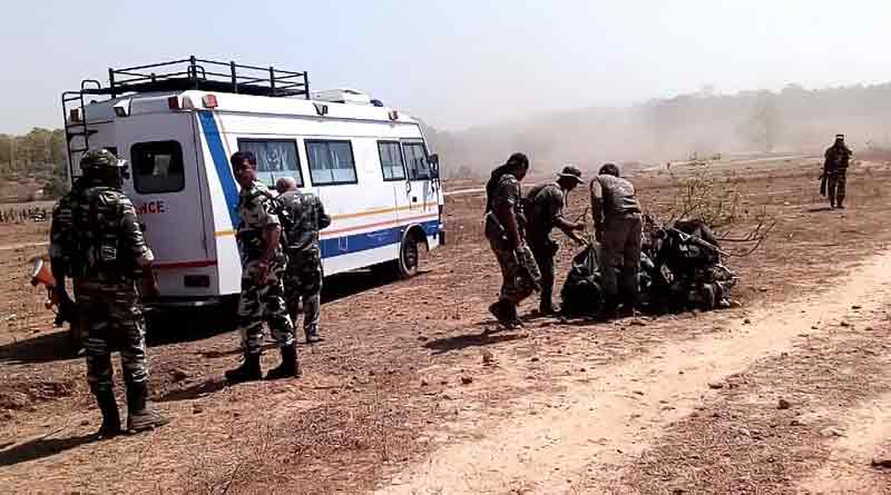 Gunfight between Maoists and security forces rages in Singhbhum