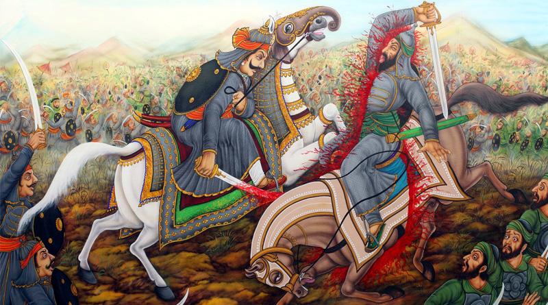 history distorted, Maharana Pratap won battle of Haldighati