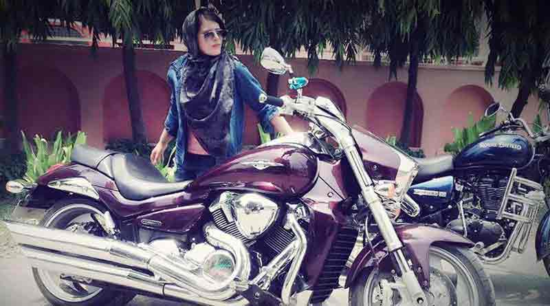meet delhis 22 year old hijabi biker