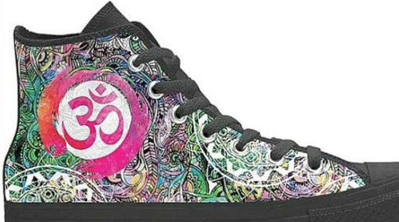 FIR Against US-Based Online Retailers For Selling Shoes With 'Om' Symbol