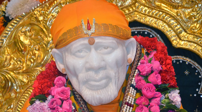 Devotees saw SAI BABA in temple's cctv footage