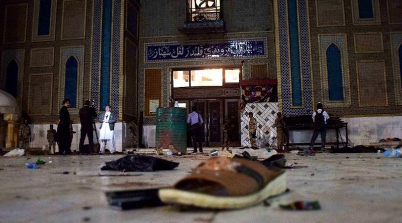 Day after shrine blast, Pakistan kills 100 militants