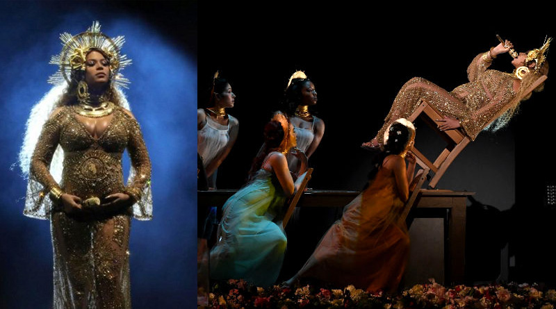 Netizens dumb struck over jaw-dropping performance of beyonce in Grammys 2017