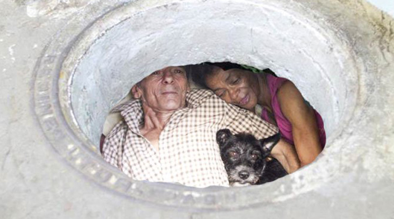 This Couple Has Been Living In A Sewer For 22 Years