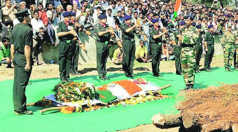 Gujarat bids teary goodbye to braveheart jawans