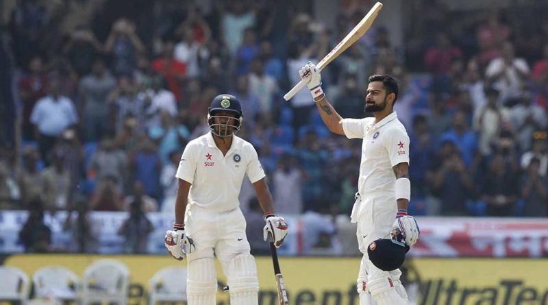 Virat Kohli scores double century, surpasses Bradman, Dravid