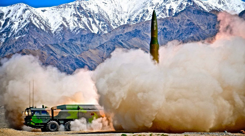 China flexes muscle, constitutes rocket force targeting US, India, Japan