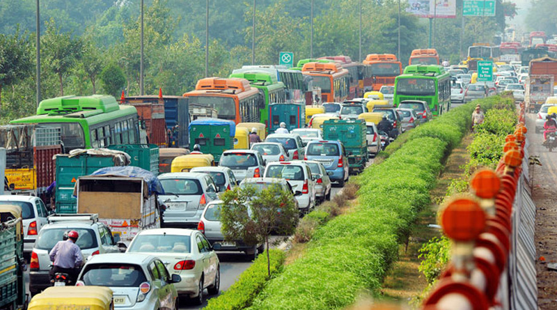 traffic congestion caused rs. 60000 crore fuel lost in delhi