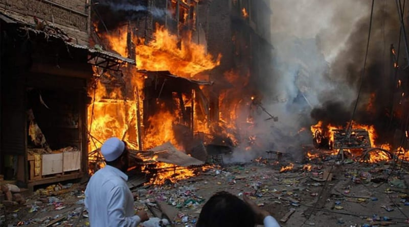 suicide bomber attacked the shrine of Lal Shahbaz Qalandar, caused large number of death