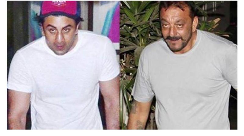 Ranbir Kapoor's pic of sanjay Dutt biopic in the open
