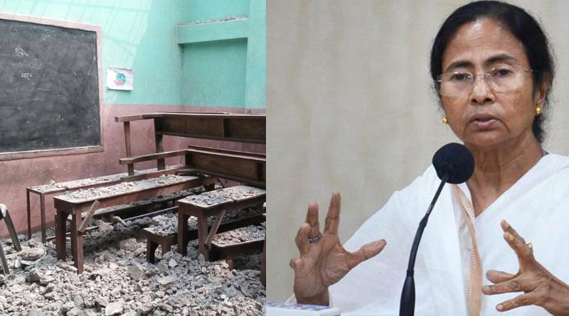 Baguiati school razed by promoter will be rebuild, says Mamata Banerjee