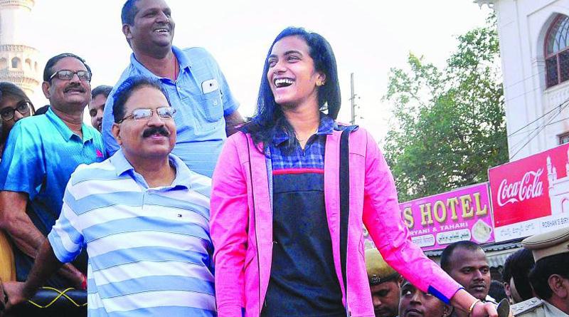 For this AIMIM legislator PV Sindhu volleyball player